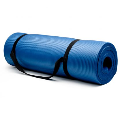 6421 v1 416x416 - Extra Thick (3/4in) Yoga Mat - Blue