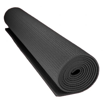6711 416x416 - 1/8-inch (3mm) Compact Yoga Mat with No-Slip Texture - Black