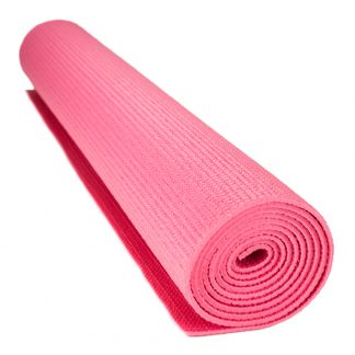 6712 324x324 - 1/8-inch (3mm) Compact Yoga Mat with No-Slip Texture - Pink