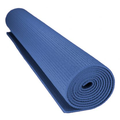 6713 416x416 - 1/8-inch (3mm) Compact Yoga Mat with No-Slip Texture - Blue