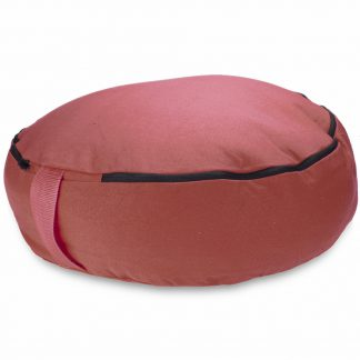 "6761 324x324 - Red 18"" Round Zafu Meditation Cushion"