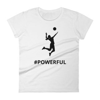 mockup a991cb72 324x324 - Women's short sleeve Volleyball t-shirt