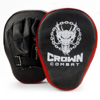 Black Punching Mitts for Sale for martial arts boxing